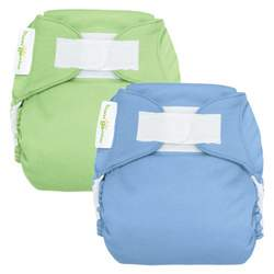 bumGenius Reusable Diaper 2 pack - Boy (Hook and Loop Closure)