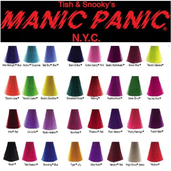 Manic Panic Hair Dye Reviews In