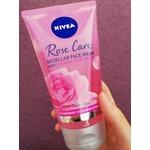 Nivea rose water gel wash