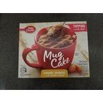 Betty crocker mug cake caramel brownie