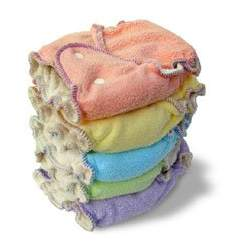 Kissaluvs Fitted Fleece SIZE ONE 6 pack - Girls