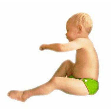 GoGreen Pocket Diaper (Lime)