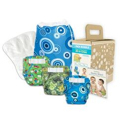 Bumkins Diaper Bundle 3-Pack - Boy, Medium