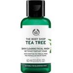 Bodyshop tea tree cleansing face wash