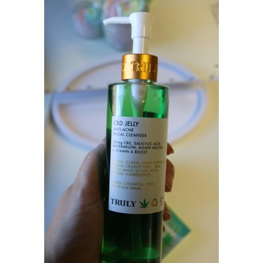 Truly beauty CBD acne cleanser