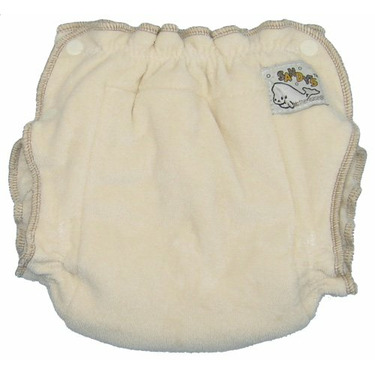 Mother-ease Sandy's Cloth Diaper (Small, Organic Cotton)