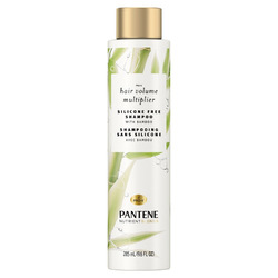 Pantene Pro-V Nutrient Blends Hair Volume Multiplier Silicone Free Shampoo with Bamboo