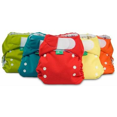 Bummis Tot Bots Easy Fit ONE Size Pocket Diaper 3PK Neutral (Neutral)