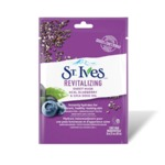 St.Ives revitalizing acai, blueberry and chia seed oil sheet mask