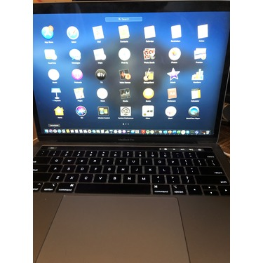 macbook pro with touch bar and touch ID