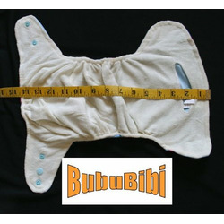 Bamboo Pocket Snaps Cloth Diaper/ Nappy - OS - Butterfly Prints