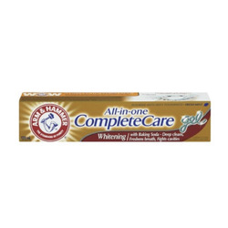 Arm and hammer all in one complete care toothpaste