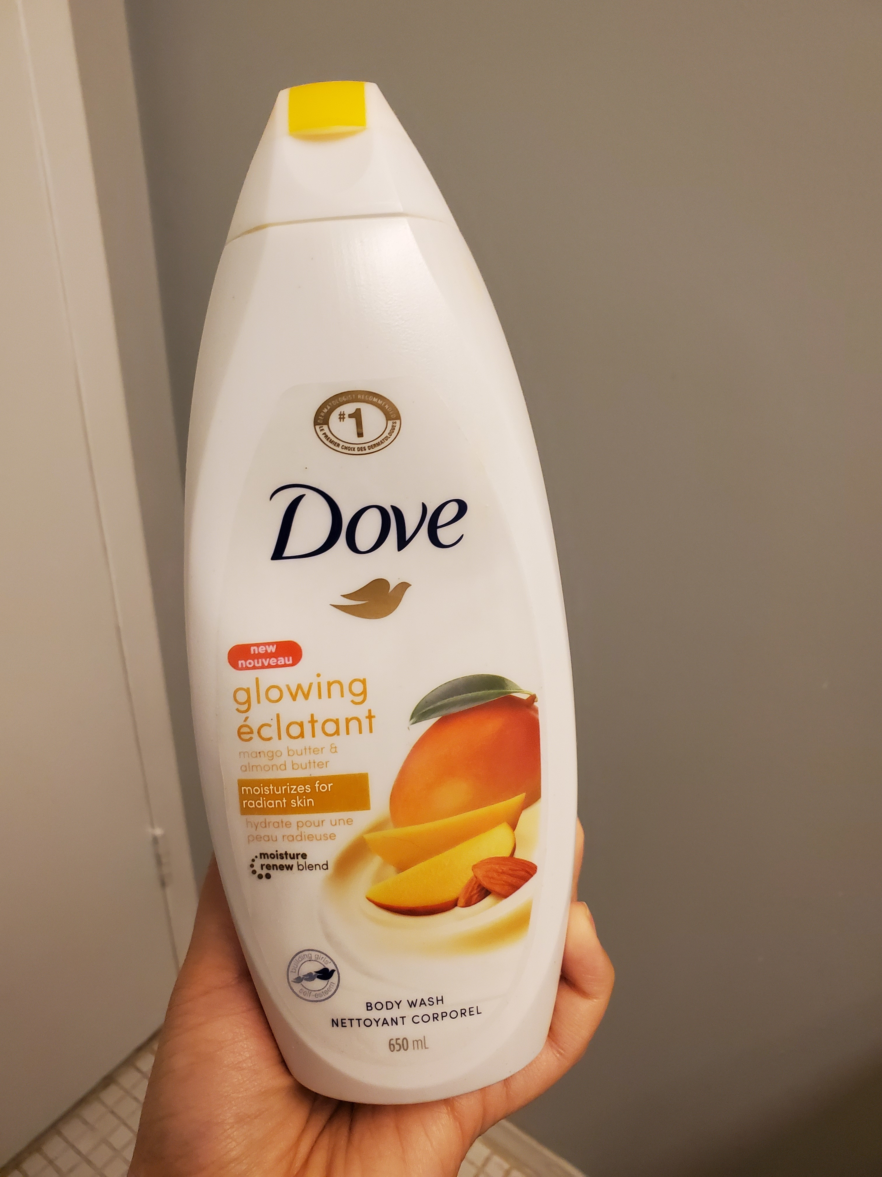 Dove Glowing Mango Butter And Almond Butter Body Wash Reviews In Body Wash Shower Gel Chickadvisor