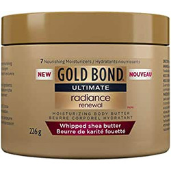 gold bond ultimate radiance renewal whipped shea butter