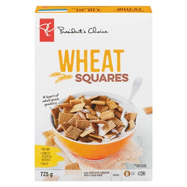 PC Wheat Squares Cereal