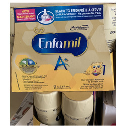 Enfamil A+® Infant Formula, New Nipple-Ready to Feed Bottles