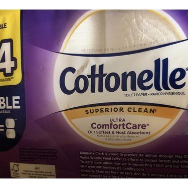 Cottonelle superior clean bath tissue