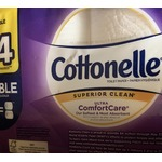 Cottonelle superior clean bath tissue