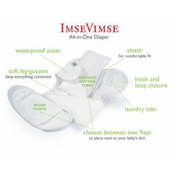 Imse Vimse All-In-One Diaper - Medium