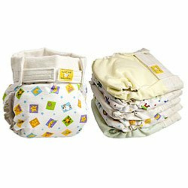 Kushies Classic Diaper- Toddler- Assorted Colors