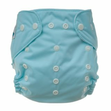 Tiny Tush Elite One-Size Cloth Diaper Snap SEASPRAY AQUA