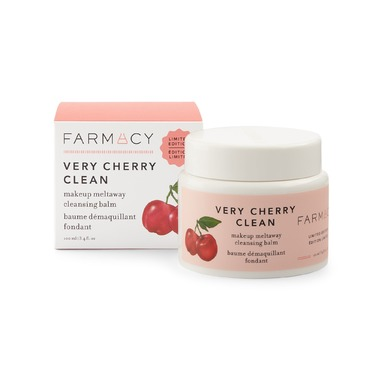 Farmacy Very Cherry Clean Makeup Meltaway Cleansing Balm