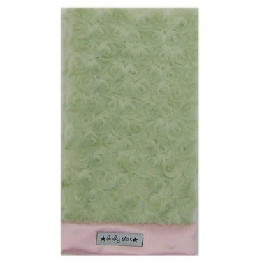 Baby Star Cotton Candy Diaper Burp - Green Pink