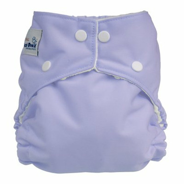 FuzziBunz Perfect Size Diaper - LAVENDER Small