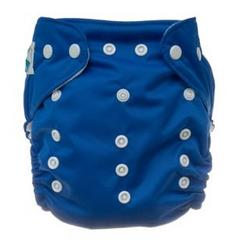 Tiny Tush Elite One-Size Cloth Diaper Snap Saturn Blue [Health and Beauty]