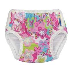 Mother-Ease Swim Diaper (Medium, Splash Daisies)