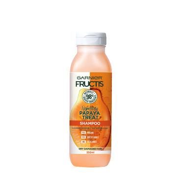 Garnier Fructis Repairing Papaya Treat Shampoo for Dry, Damaged Hair