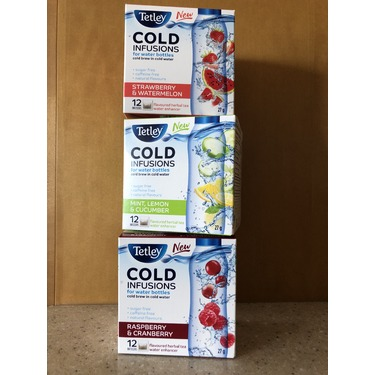 Tetley Cold Infusions - Mint, Lemon & Cucumber