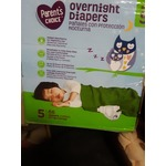 Parents Choice Overnight Diapers size 5