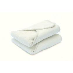 Kissaluvs Cotton Fleece Contour Diaper, 2 Pack, Unbleached, Small 5-20lbs
