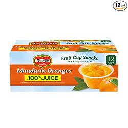 Del Monte Mandarin Oranges 100% Juice