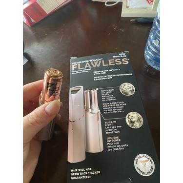 Flawless body hair remover