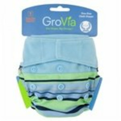 GroVia Shell Set Baby Diaper - Mandarin