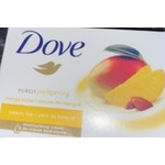 DOVE PURELY PAMPERING MANGO BUTTER & ALMOND BUTTER BEAUTY BAR