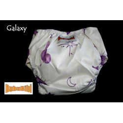 Bamboo Pocket Snaps Cloth Diaper/ Nappy - OS - Galaxy Prints