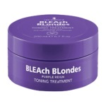 Lee Staafford Bleach Blondes purple reign toning treatment.