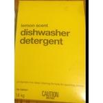 No Name Lemon Scent Dishwasher Detergent