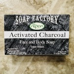 Soap Factory by Alpen Face Bar - Charcoal