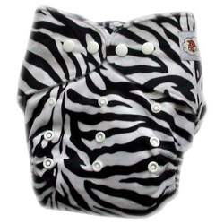 GoGreen Pocket Diaper (Zebra)