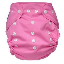 Tiny Tush Elite One-Size Cloth Diaper Snap RASPBERRY PINK