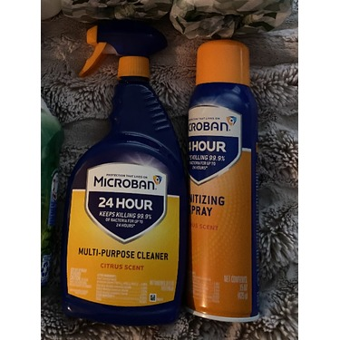 Microban 24 Hour multi-purpose cleaner & disinfectant spray