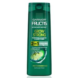 Garnier Fructis Grow Strong Cooling 2-In-1 hair & scalp Shampoo