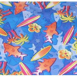 CuteyBaby Modern Cloth Diaper (Surf Sharks)