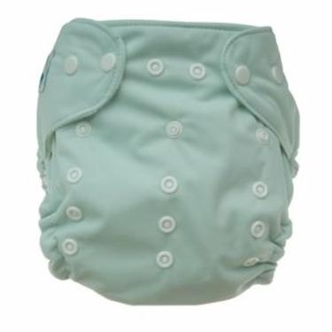 Tiny Tush Elite One-Size Cloth Diaper Snap SAGE