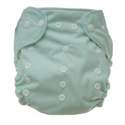 Tiny Tush Elite One-Size Cloth Diaper Snap SAGE