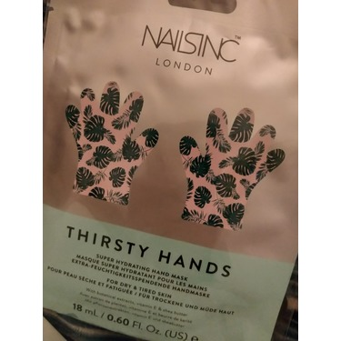 Nails INC thirsty hands hand mask